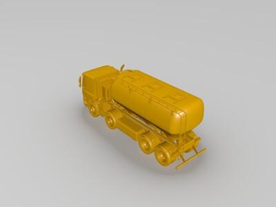 罐车模型-3d打印模型