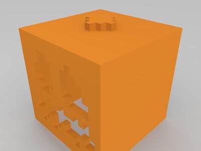 MC南瓜头-3d打印模型