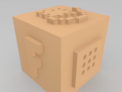 炸弹-3d打印模型