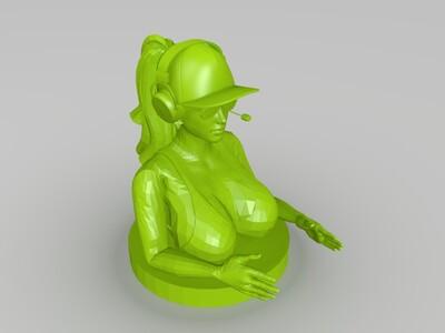 女人-3d打印模型