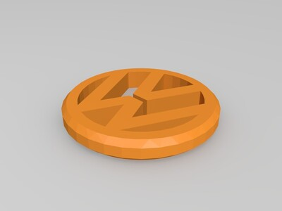 大众钥匙扣-3d打印模型