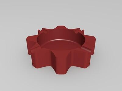 烟灰缸-3d打印模型