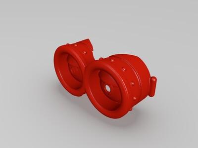 小黄人护目镜-3d打印模型