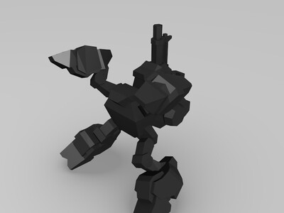 沃克-3d打印模型