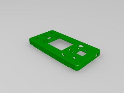 红米2A手机壳-1.5mm厚-3d打印模型