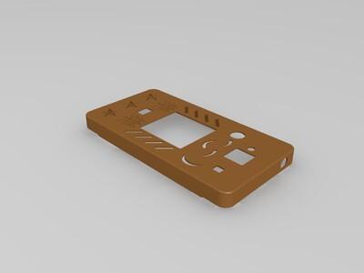 红米2A手机壳1mm厚-3d打印模型