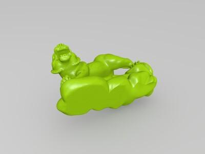 虎-3d打印模型