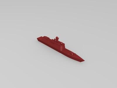 战舰-3d打印模型