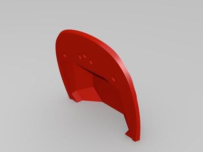 法拉利恩佐(没有轮子)-3d打印模型