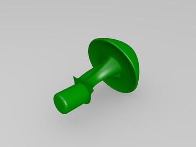 蘑菇屋-3d打印模型