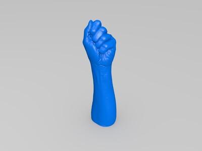 手-3d打印模型