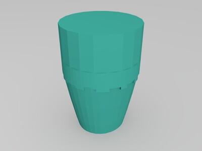 南瓜-3d打印模型