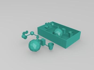 环保卫士-3d打印模型