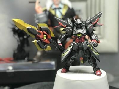 王者荣耀吕布-末日机甲皮肤-3d打印模型