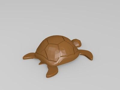 海龟-3d打印模型