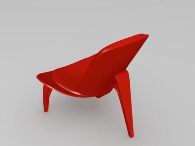 休闲椅模型-3d打印模型