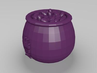 仙豆-3d打印模型