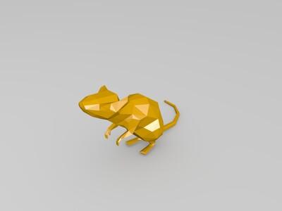 老鼠模型-3d打印模型
