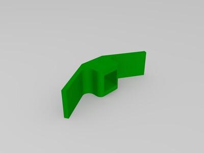 电路开关板-3d打印模型