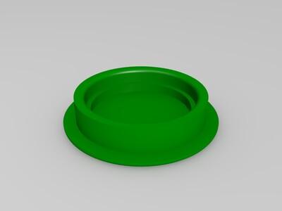 办公桌圆孔-3d打印模型