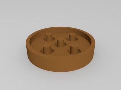 3D打印机 减震 弹簧减震-3d打印模型
