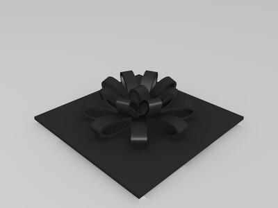 礼物盒-3d打印模型
