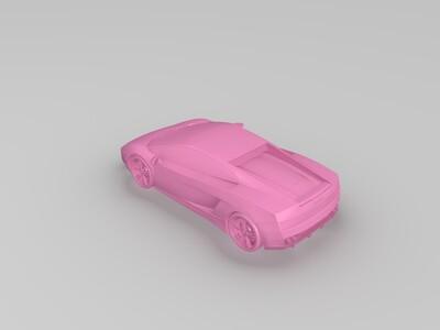 兰博基尼跑车模型-3d打印模型