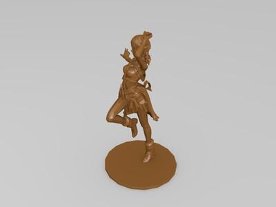 最终幻想13角色模型---Vanille-3d打印模型