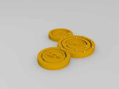 水分子-3d打印模型