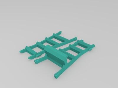梯子手机支架-3d打印模型
