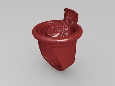 亚历山大戒指-3d打印模型