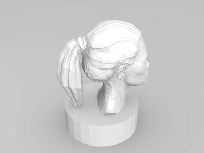 雕塑模型-3d打印模型