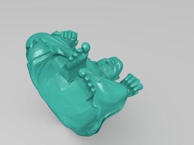 笑佛模型-3d打印模型