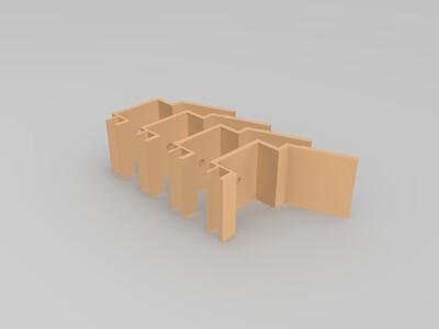 海盗船炮-3d打印模型