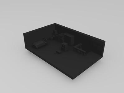 口袋妖怪火红自己家-3d打印模型