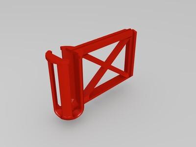 8520空心杯六轴玩具机架-3d打印模型