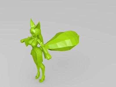 王者荣耀妲己-3d打印模型