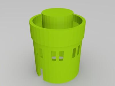 圣地亚哥纪念碑-3d打印模型