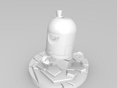花花公子的机器人-3d打印模型