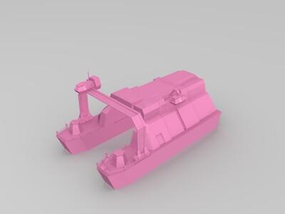 红警3盟军船厂-3d打印模型