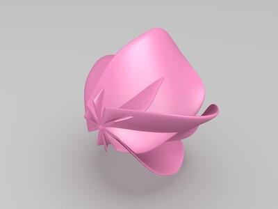 抽象花-3d打印模型