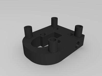 k800三角洲效应器-3d打印模型