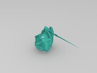 腰部-3d打印模型
