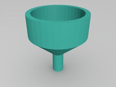 漏斗-3d打印模型