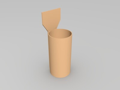 水文蒸发皿配件-3d打印模型