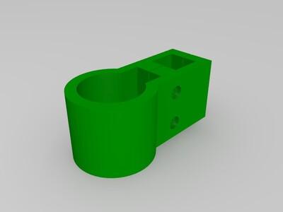 自行车架-3d打印模型