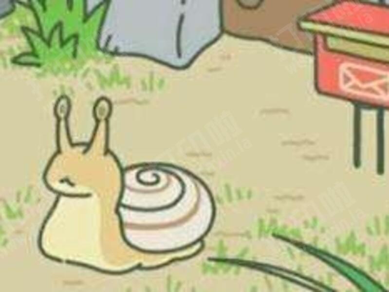 旅行青蛙 蜗牛 来访朋友-3d打印模型