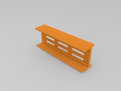 迷你mini机箱ITX-3d打印模型