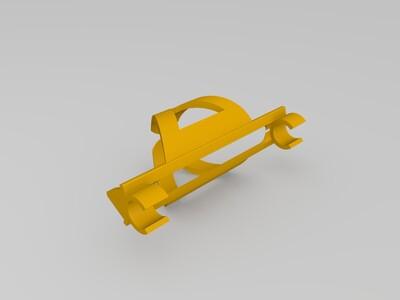 骑行水杯支架-3d打印模型