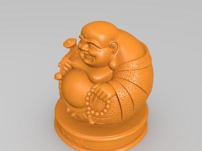 赐福弥乐-3d打印模型